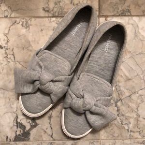 Nine West Oriao Bow Slip On Sneakers